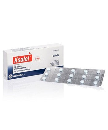 Ksalol 1mg pills